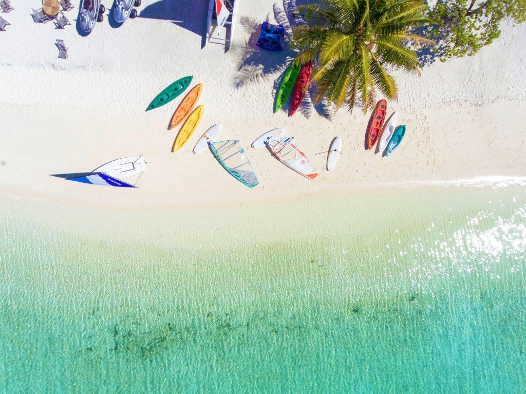 Semester på Maldiverna