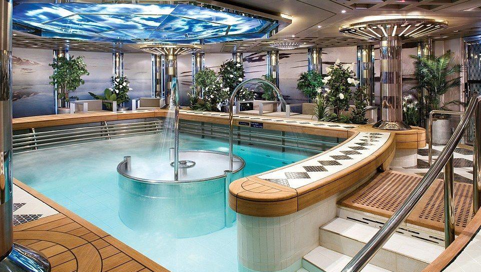 Poolen ombord fartyget Zaandam