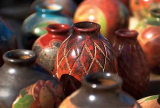 Traditionell Chorotega keramik