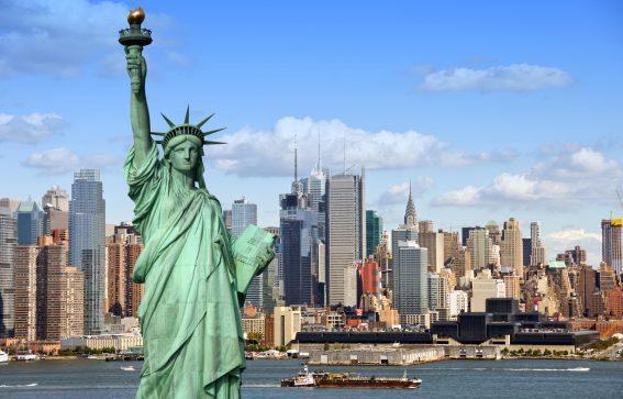 New York, frihetsgudinnan