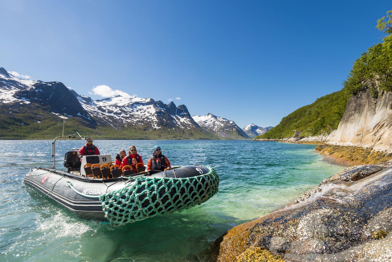 Expedition i Norska kusten