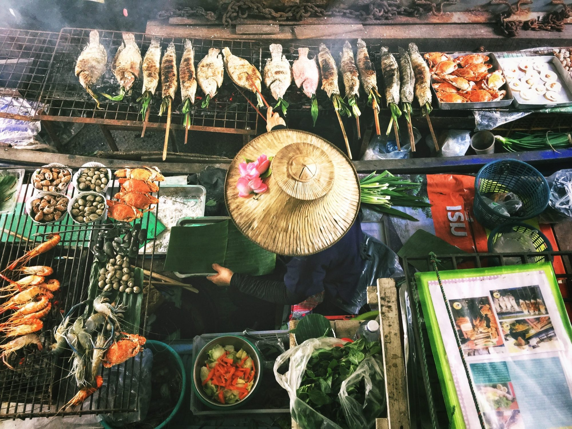 Streetfood i Bangkok, Thailand