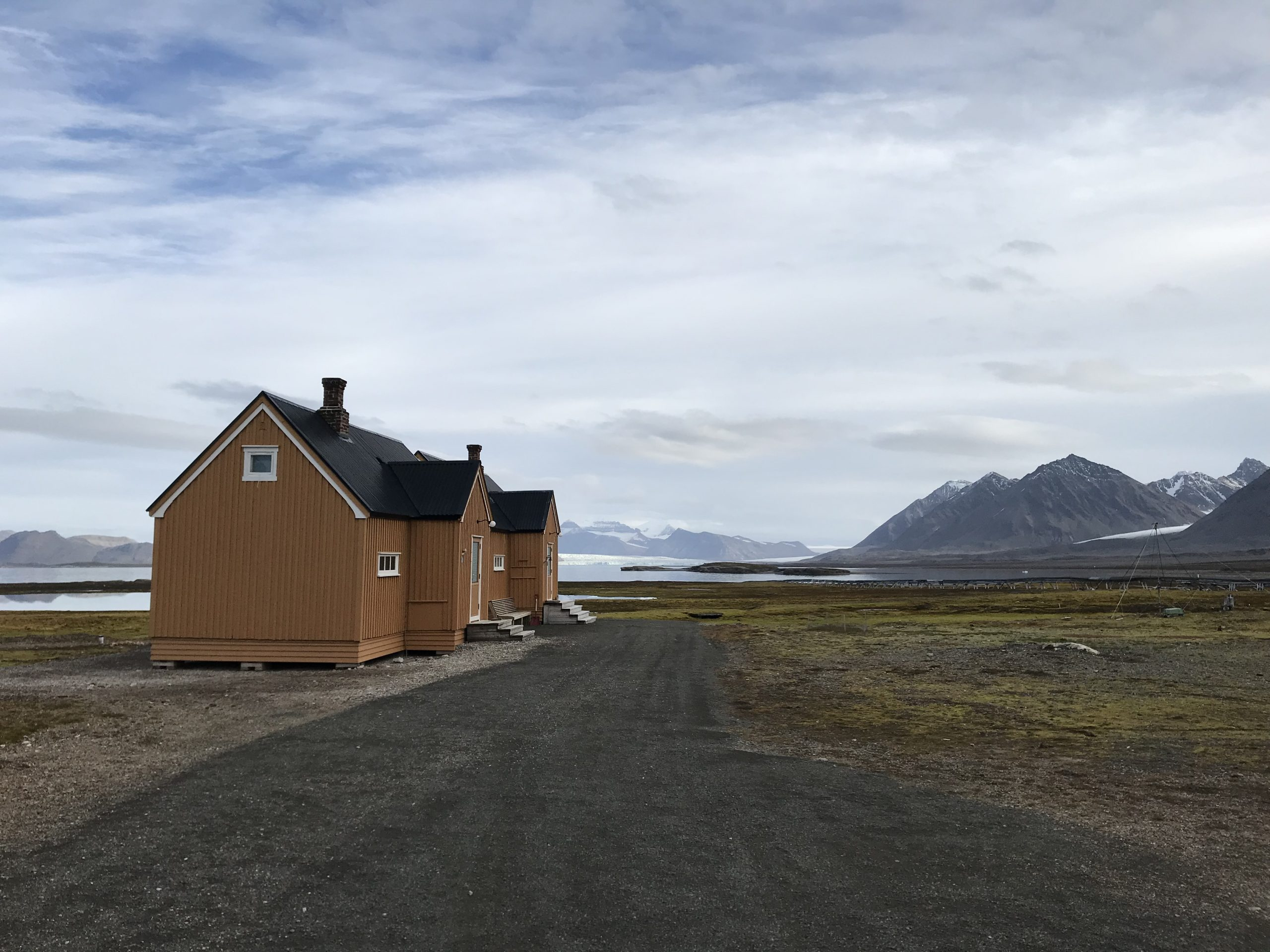 Stuga i Svalbard
