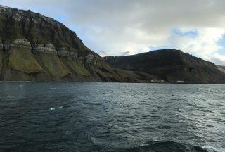 Vackra berg i Svalbard