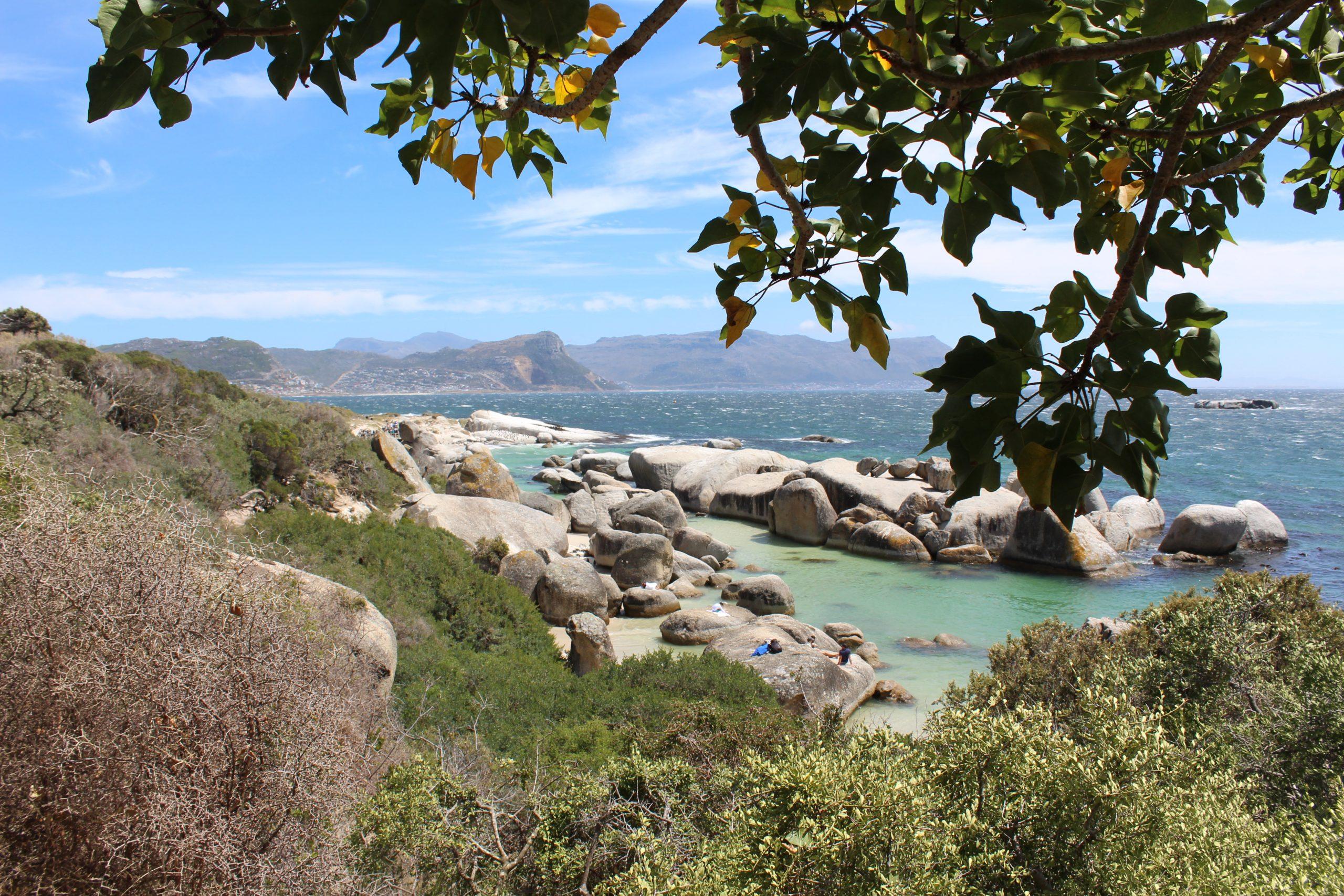 Vackra vyer utanför Kapstaden