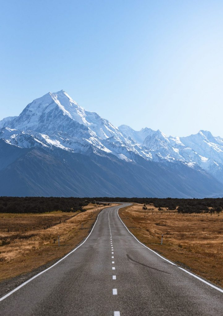 Väg på Nya Zeeland