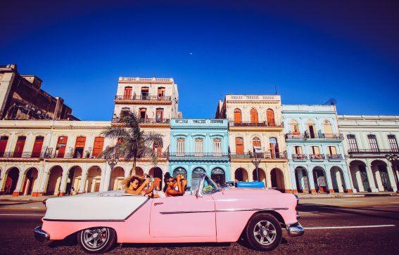 vacker arkitektur i Havanna Karibien