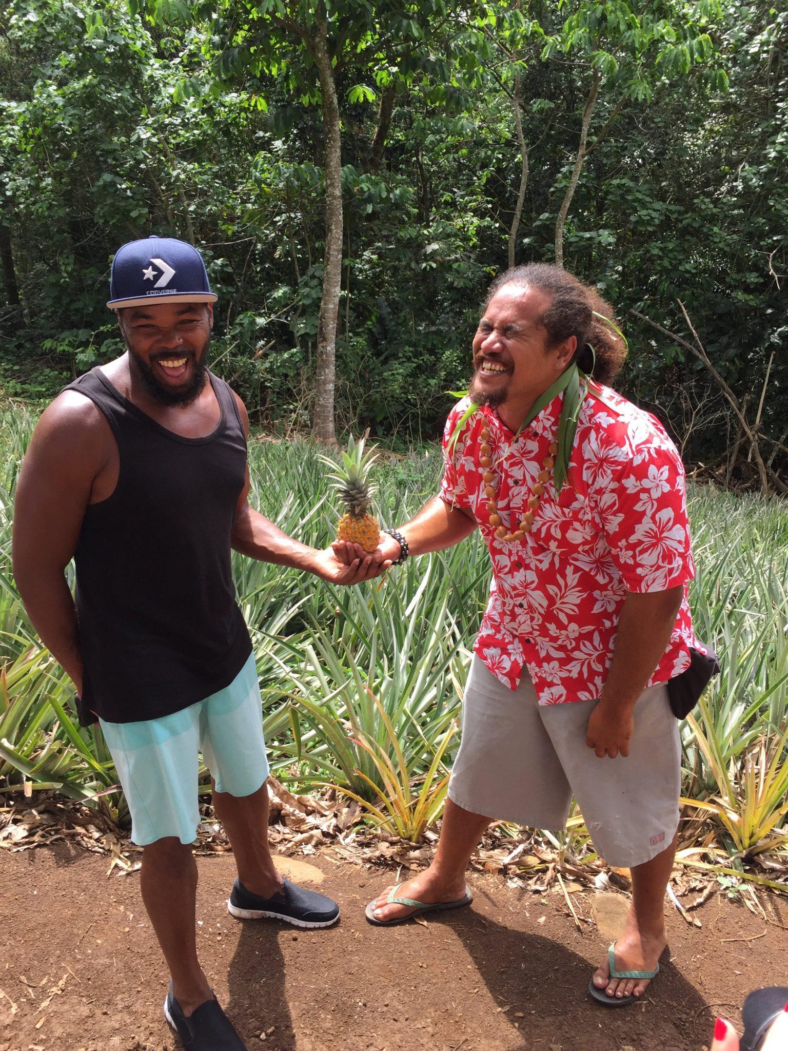 Glädje och ananas på Hawaii