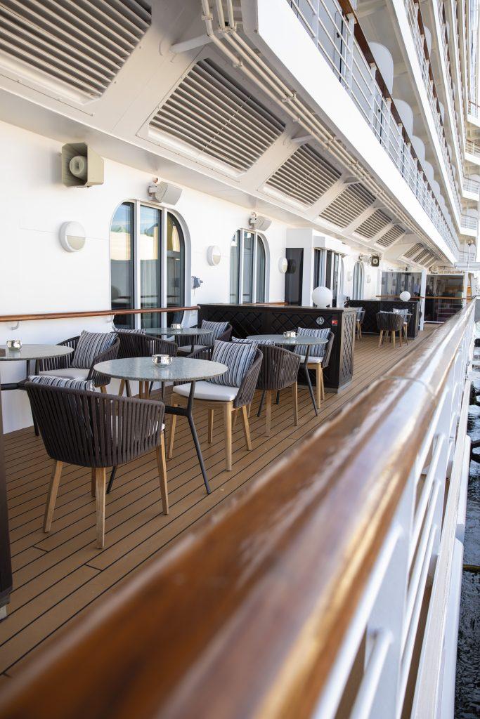 veranda på regent seven seas