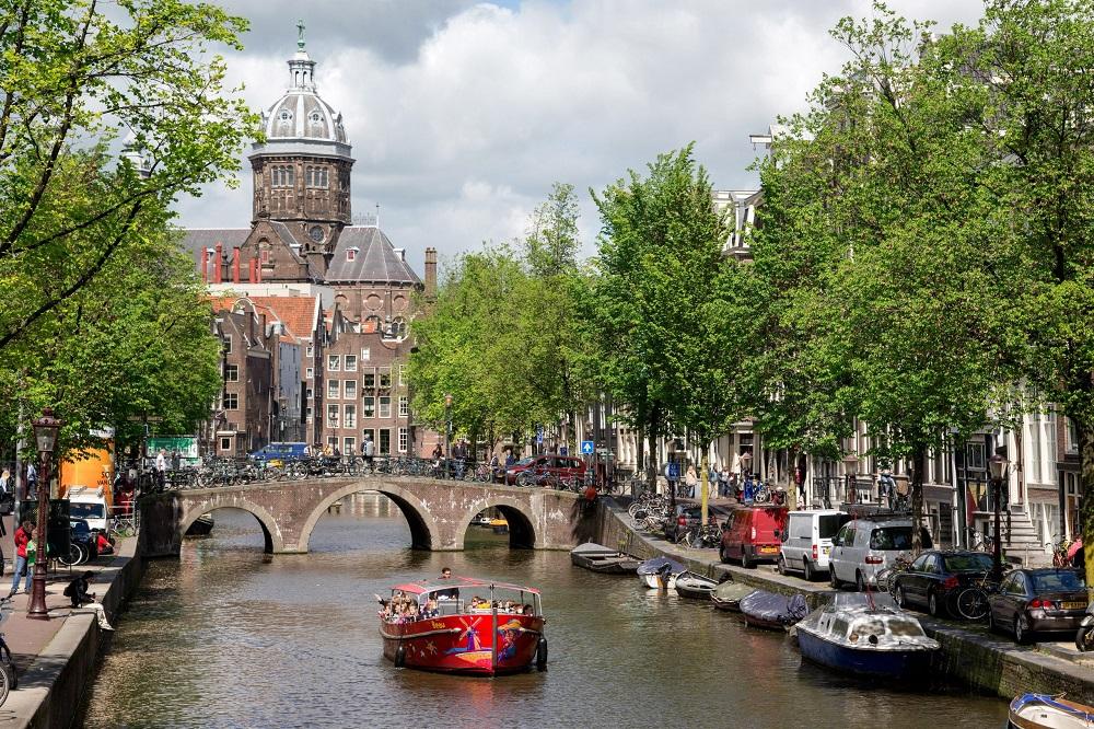 Kanaler i Amsterdam
