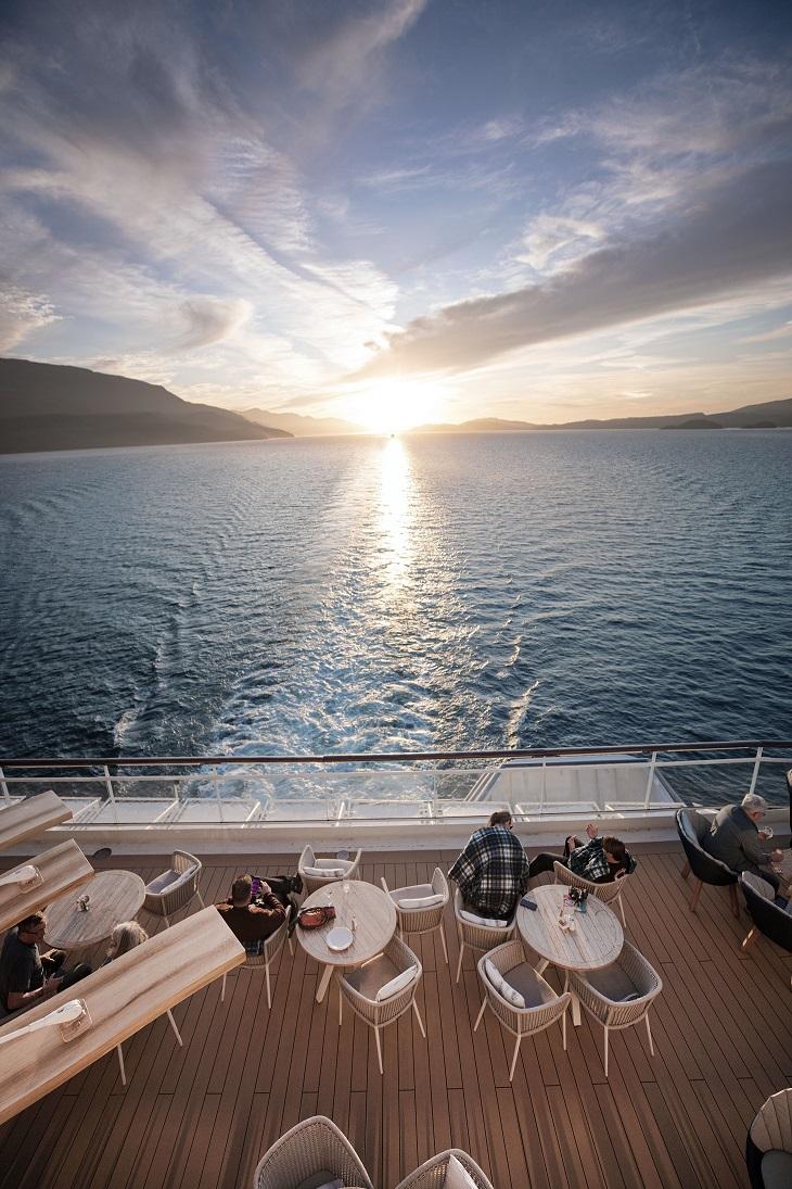Sol i Alaska med Celebrity Millennium