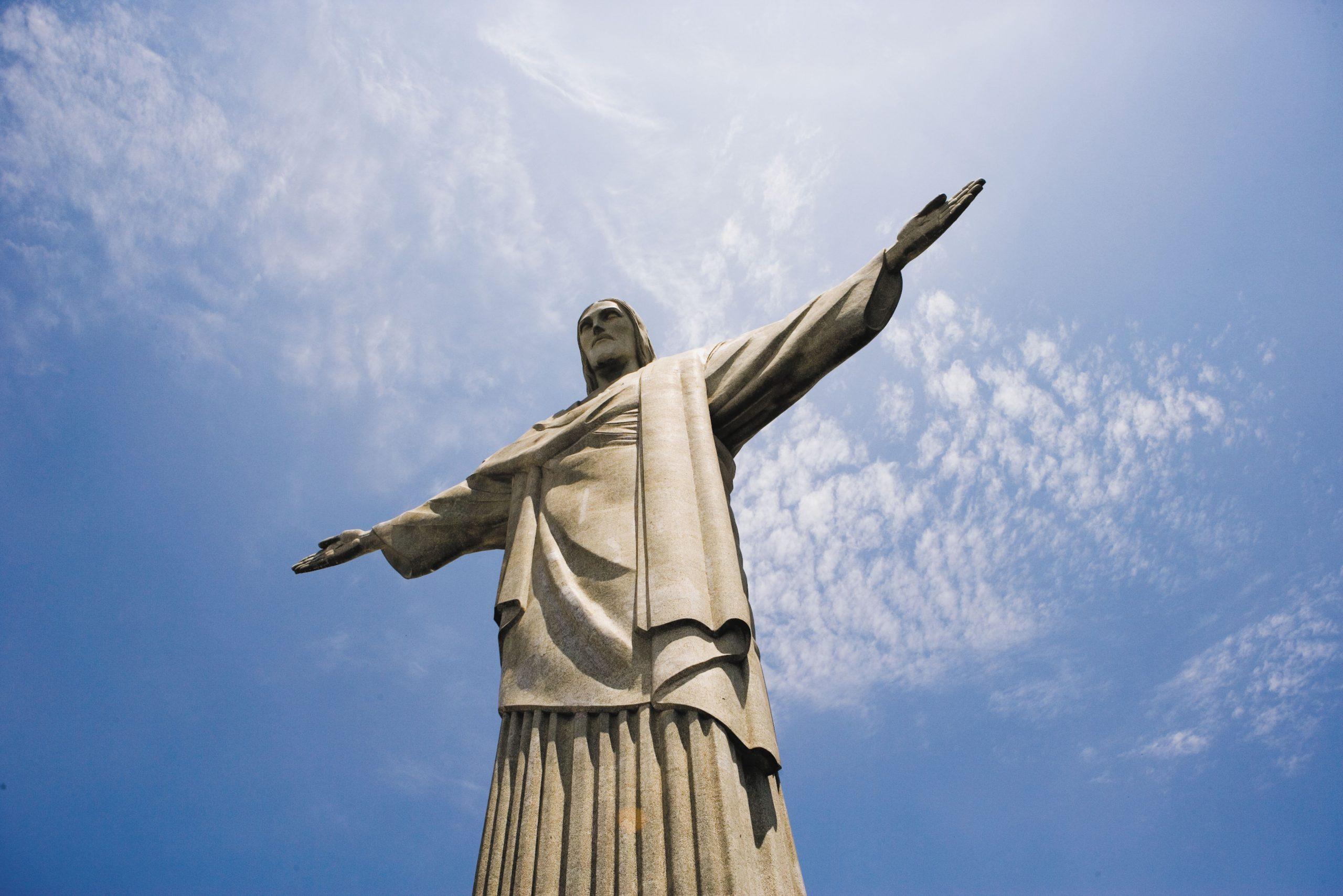 Brazil Rio De Janeiro christ statue
