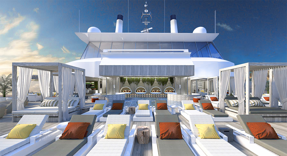 Celebrity Edge kryssningsfartyg Enclave Suite