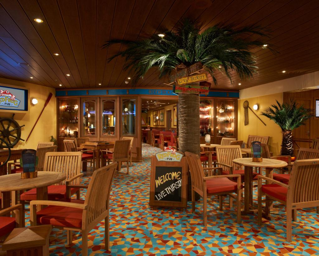 Red Frog Pub ombord ett av Carnival Cruise Lines fartyg