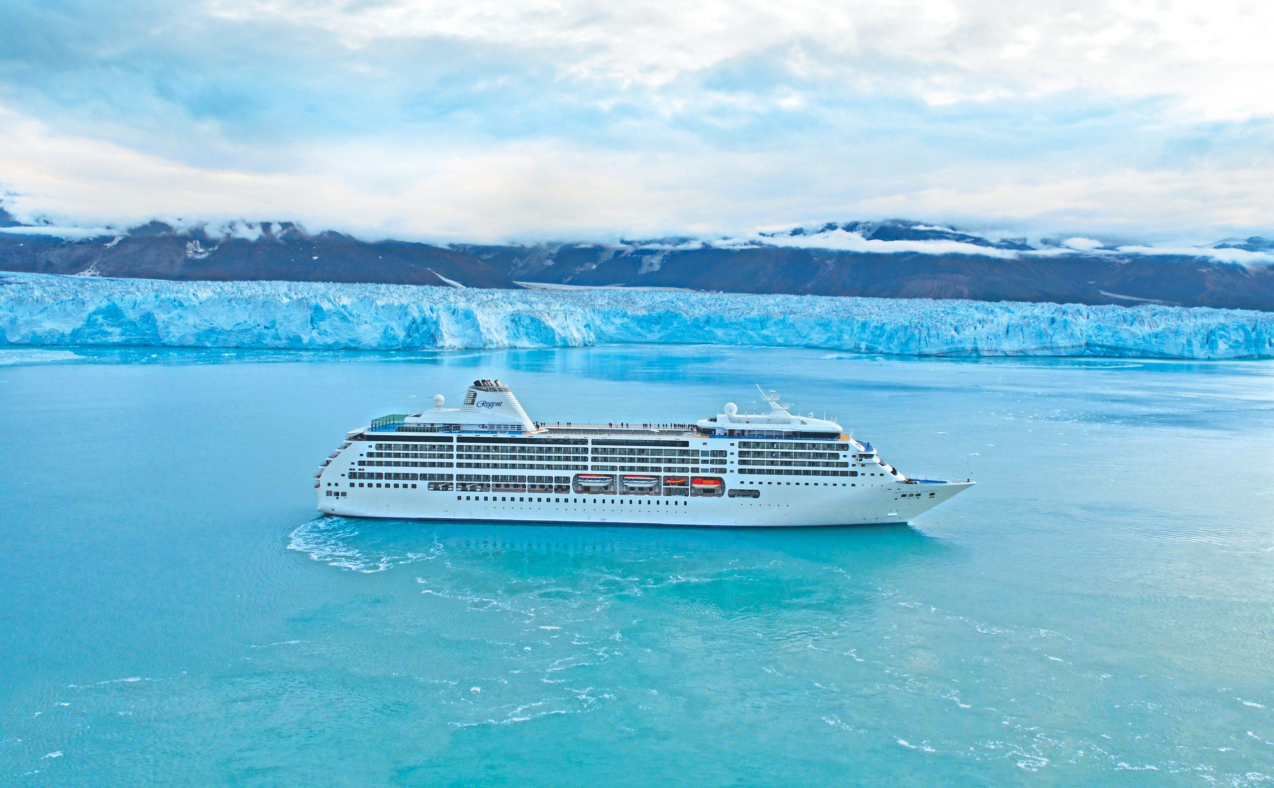 Regent Alaska Hubbard glaciären