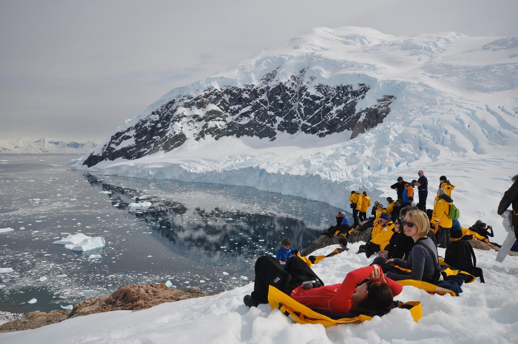Grupp i Antarktis