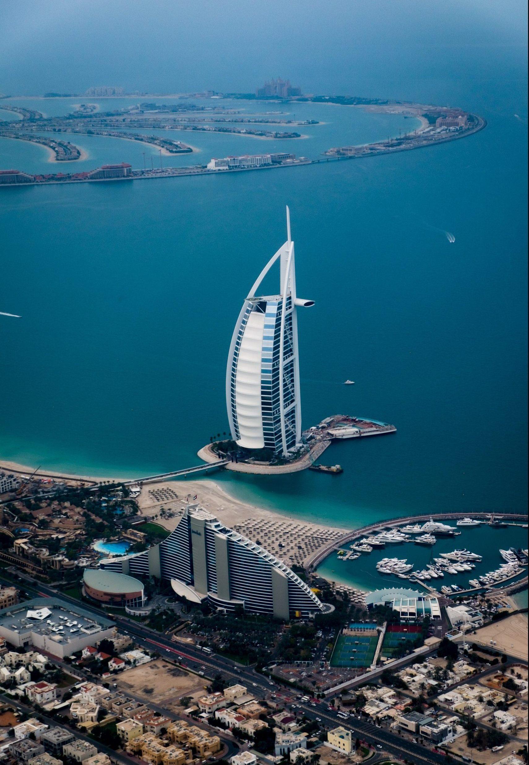 Ikonisk arkitektur i Dubai