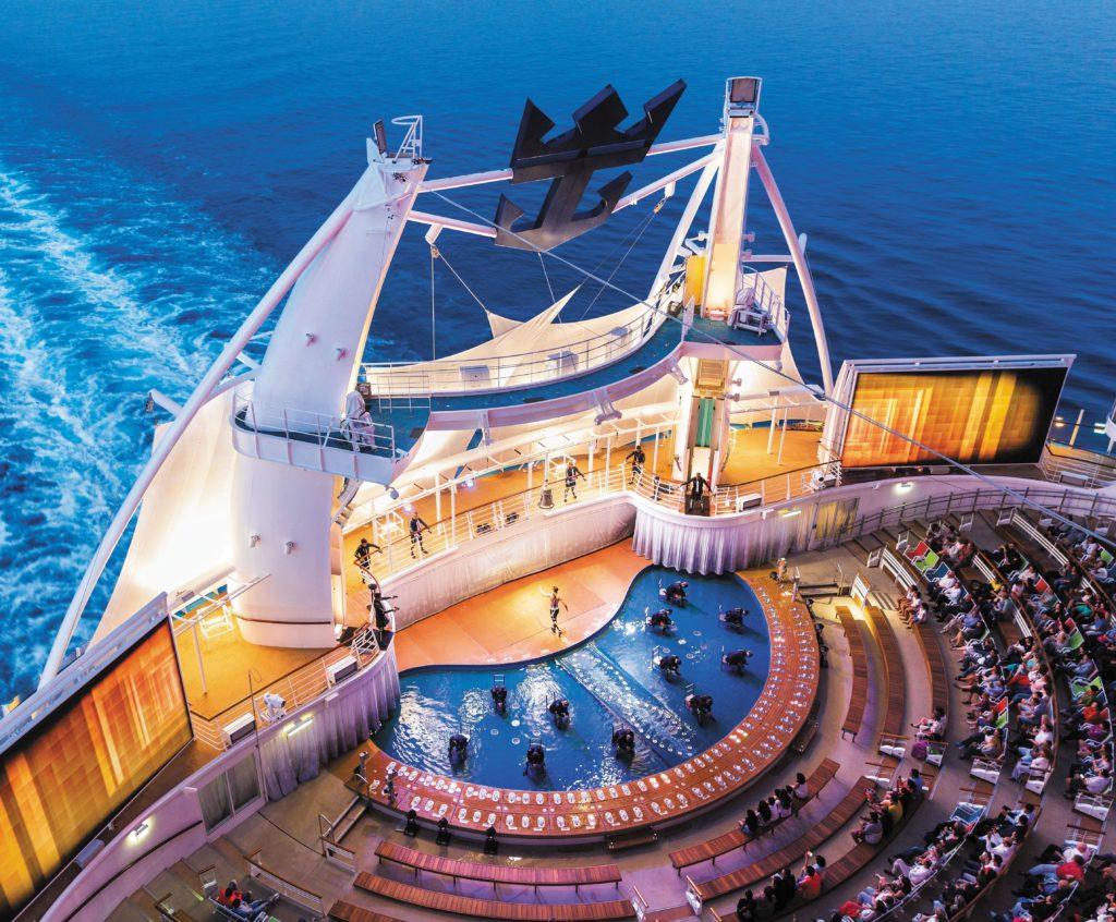 Royal Caribbean Harmony of the seas teater