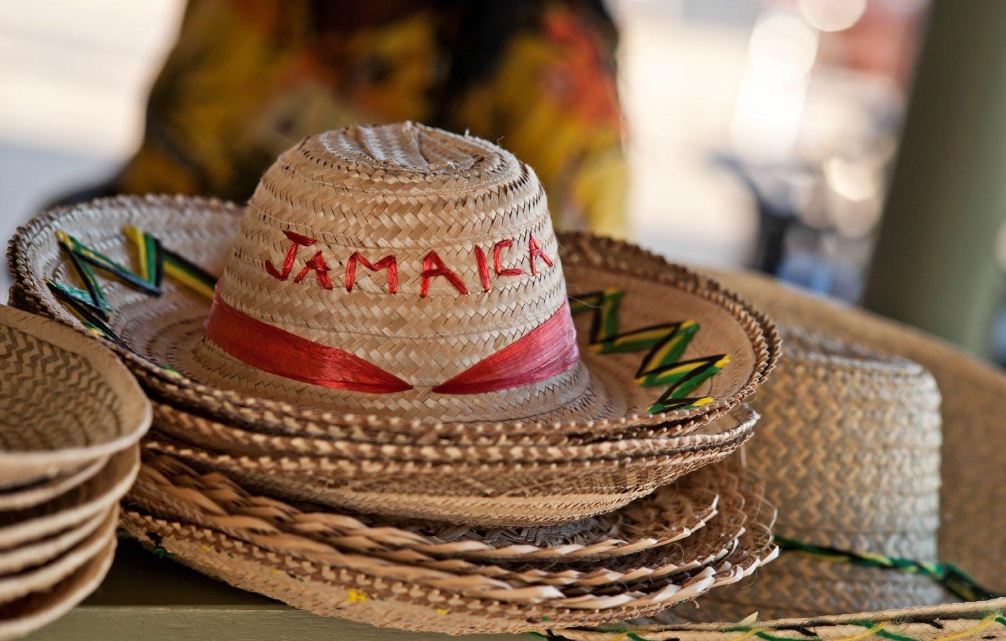 Sombrero med text Jamaica