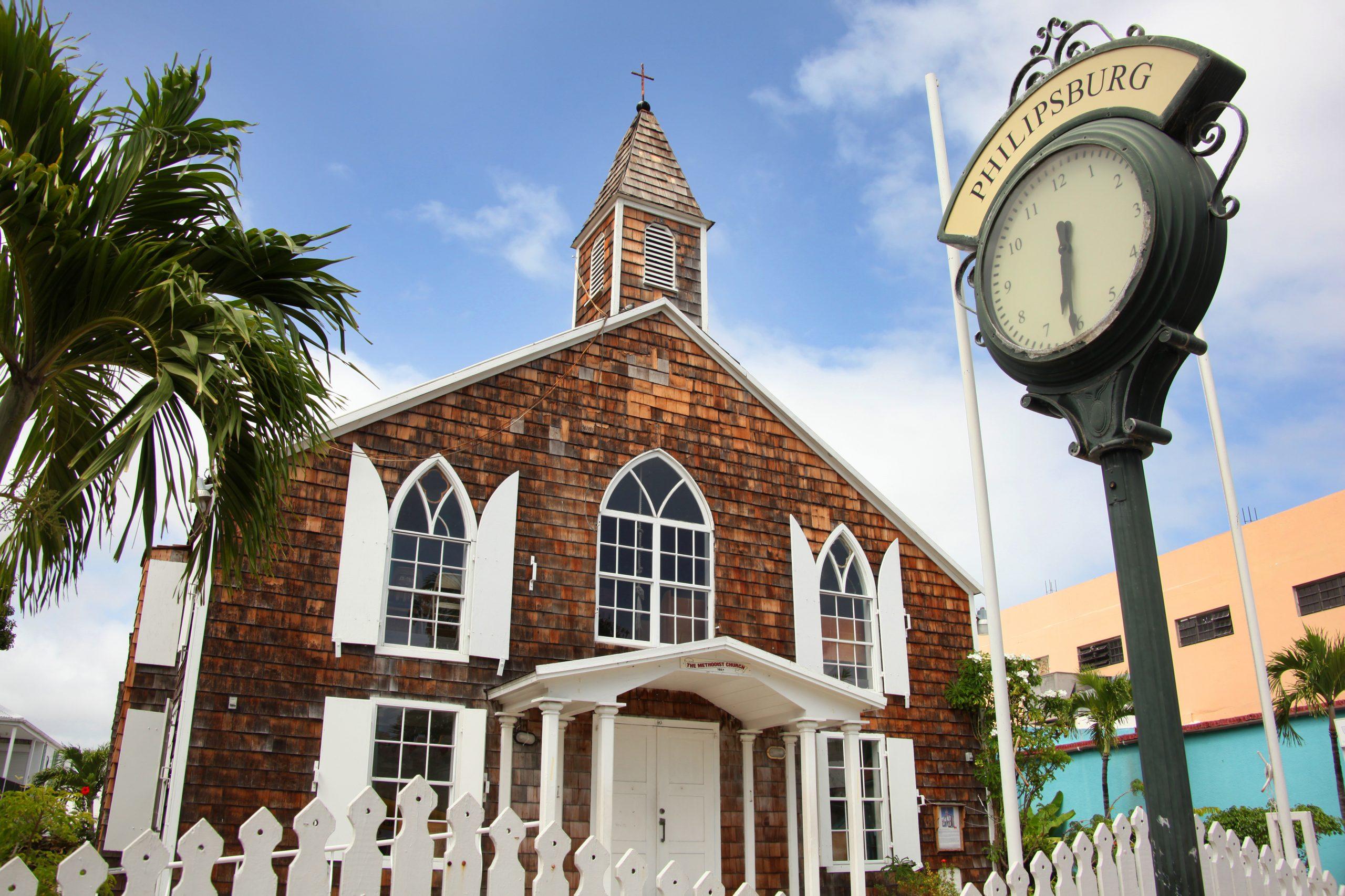 Kyrka på St Maarten