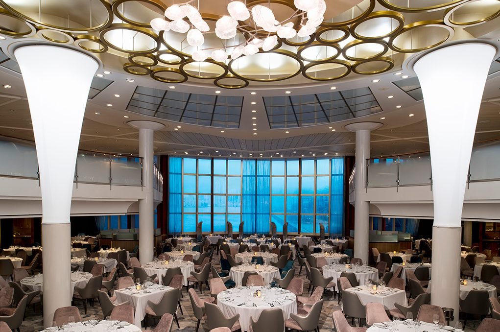 Celebrity Millennium metropolitan restaurang