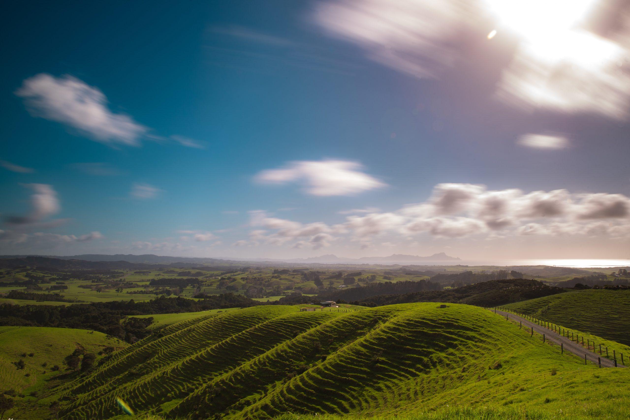 Vacker natur i Nya Zeeland