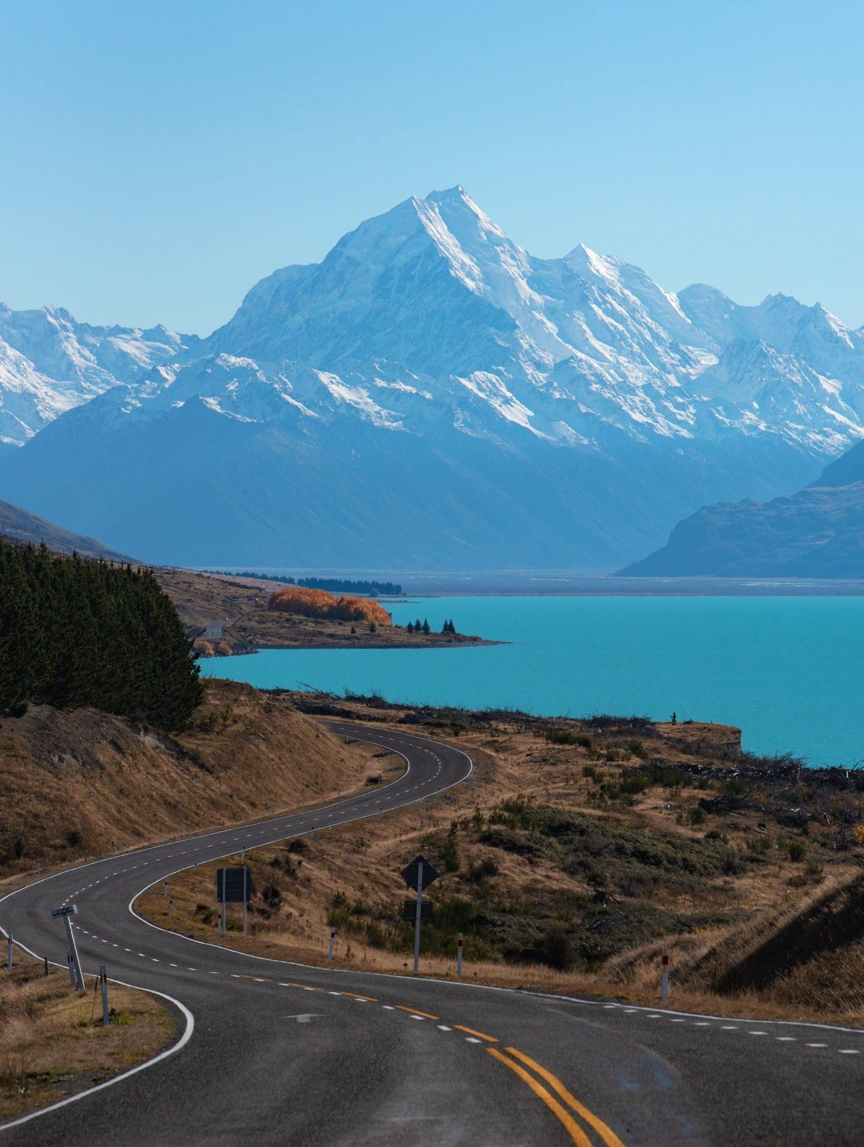 New Zeeland mountains