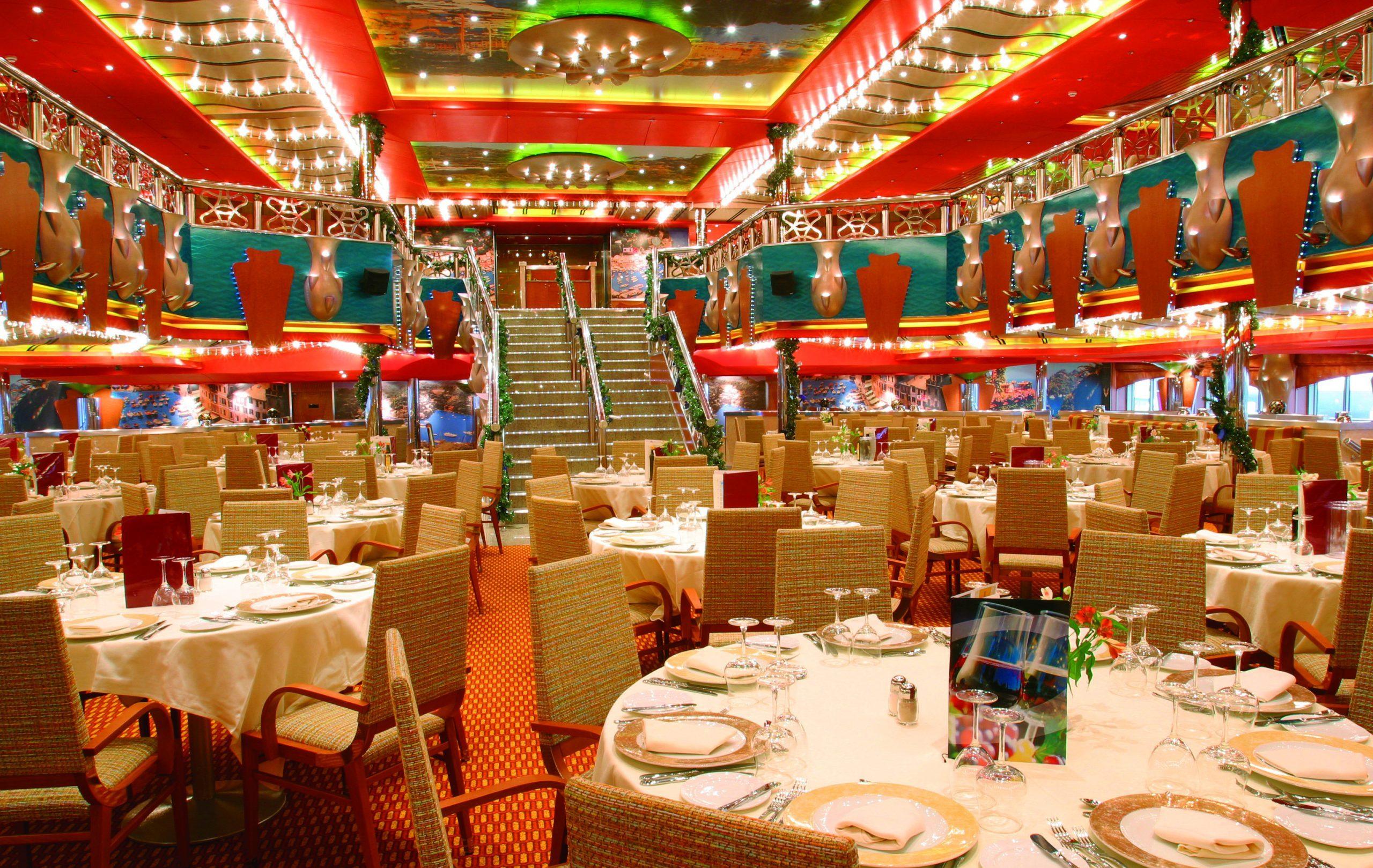 Restaurang ombord Magica