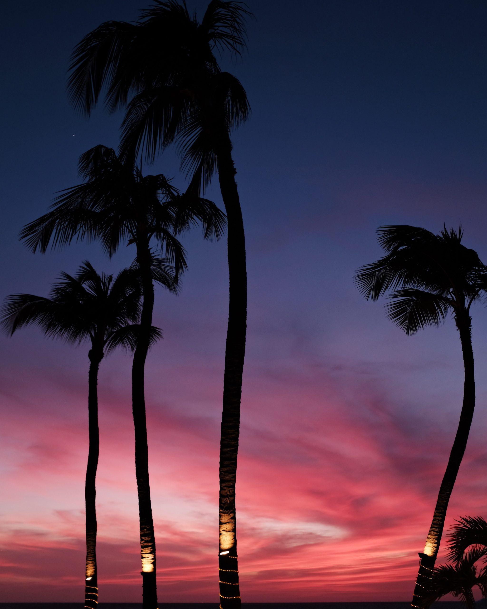 Solnedgång i Aruba