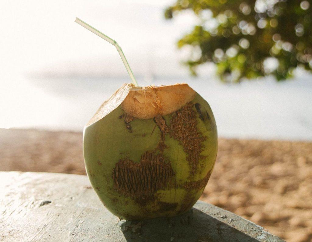 St Lucia kokosnöt