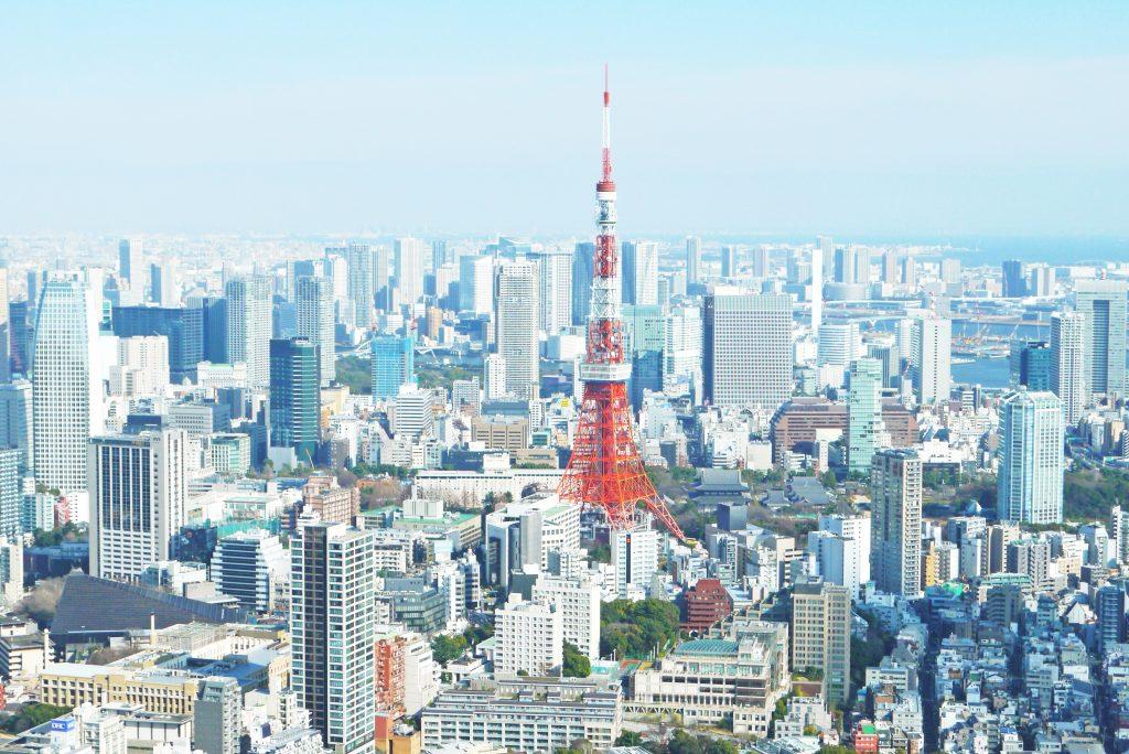 Tokyo Tower i Tokyo Japan