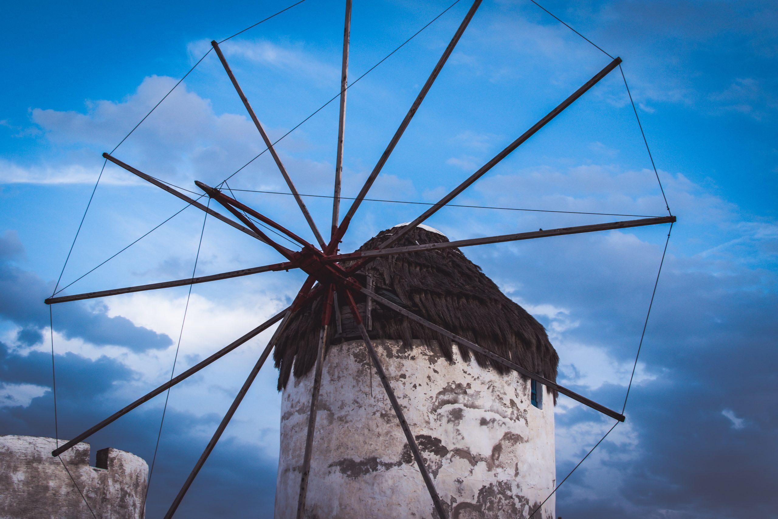 Väderkvarn på Mykonos