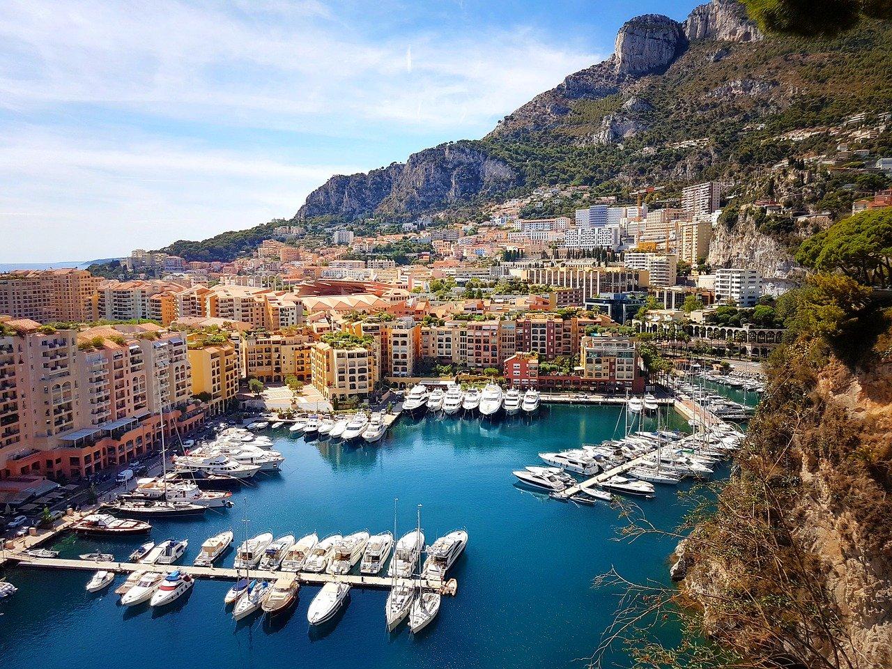 Monaco hamn