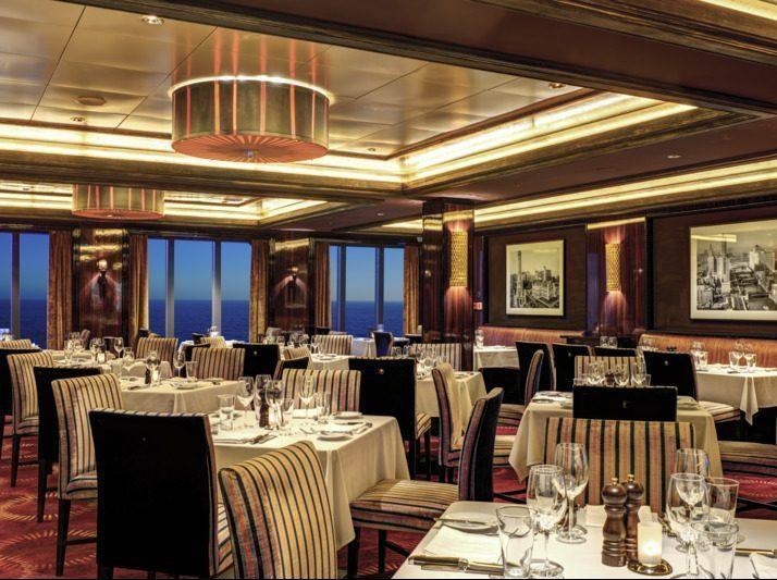 Norwegian Epic Cagneys restaurang