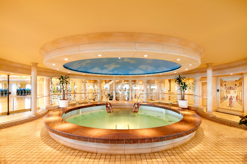 voyager of the seas spa