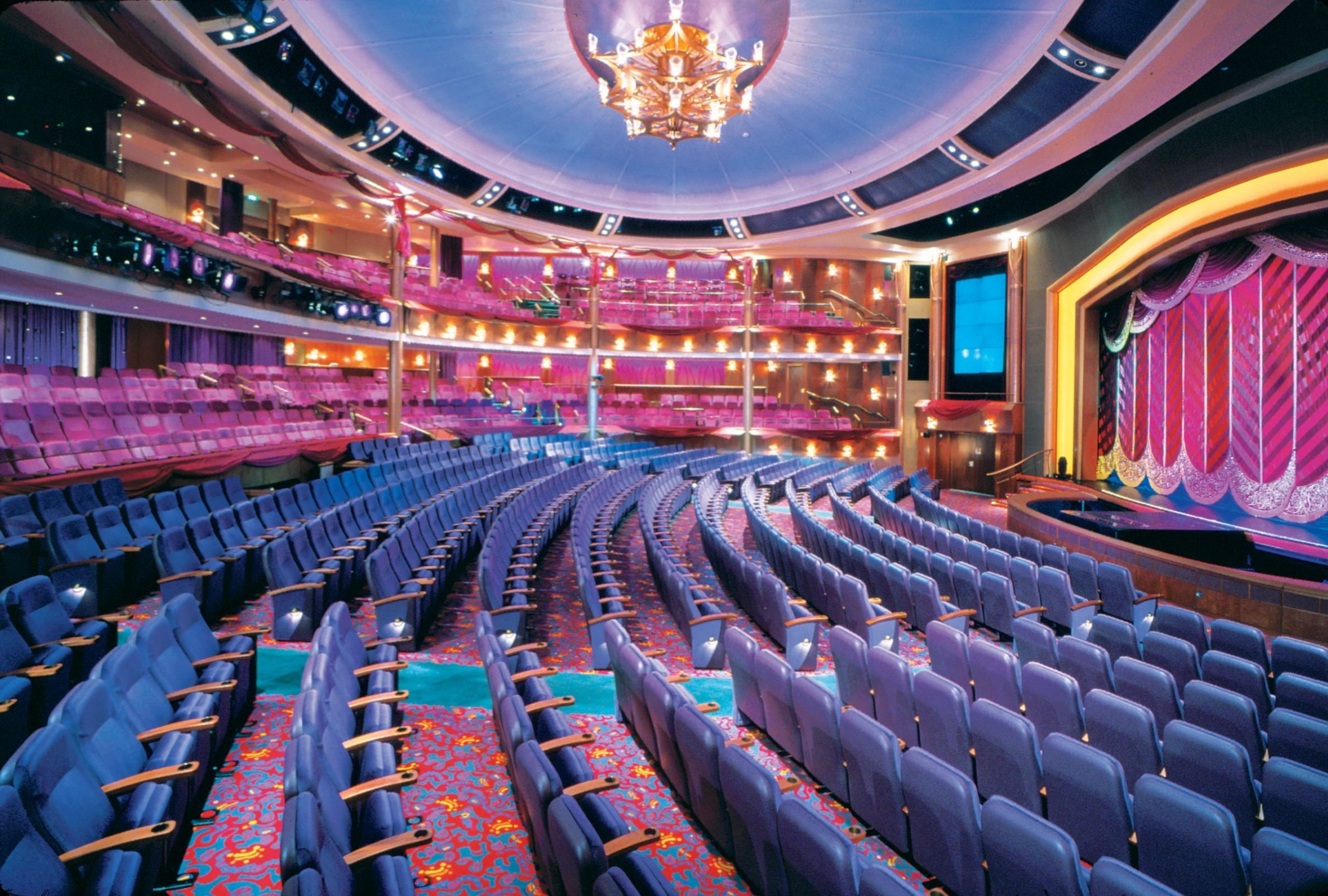 Voyager of the Seas teater