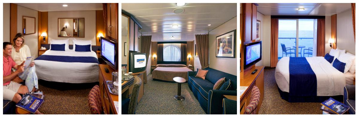 Hytter ombord Serenade of the Seas