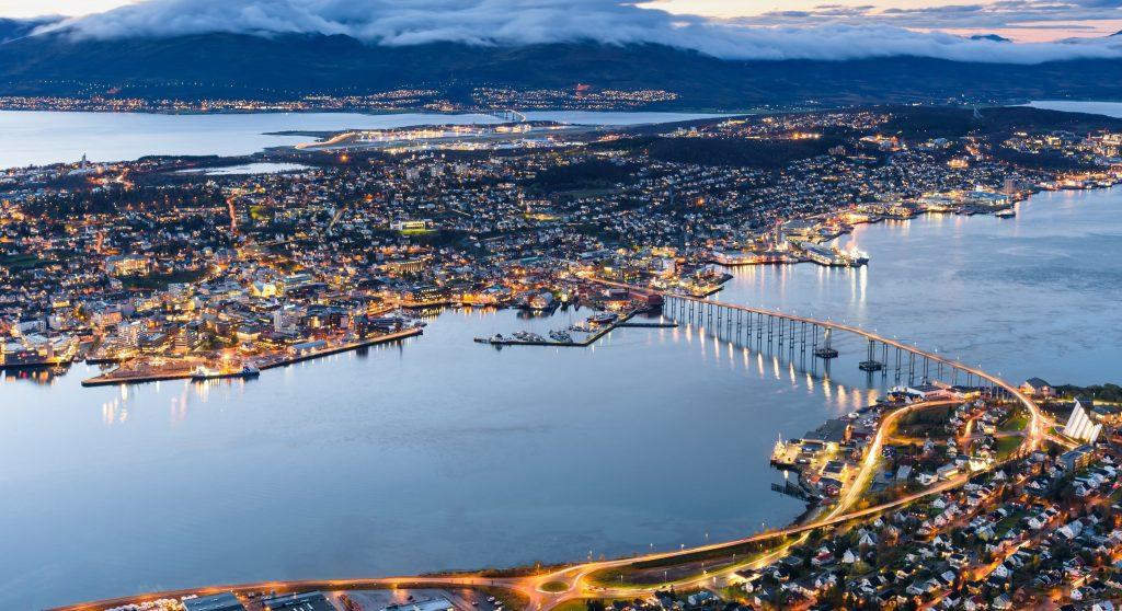 Tromso i Norge