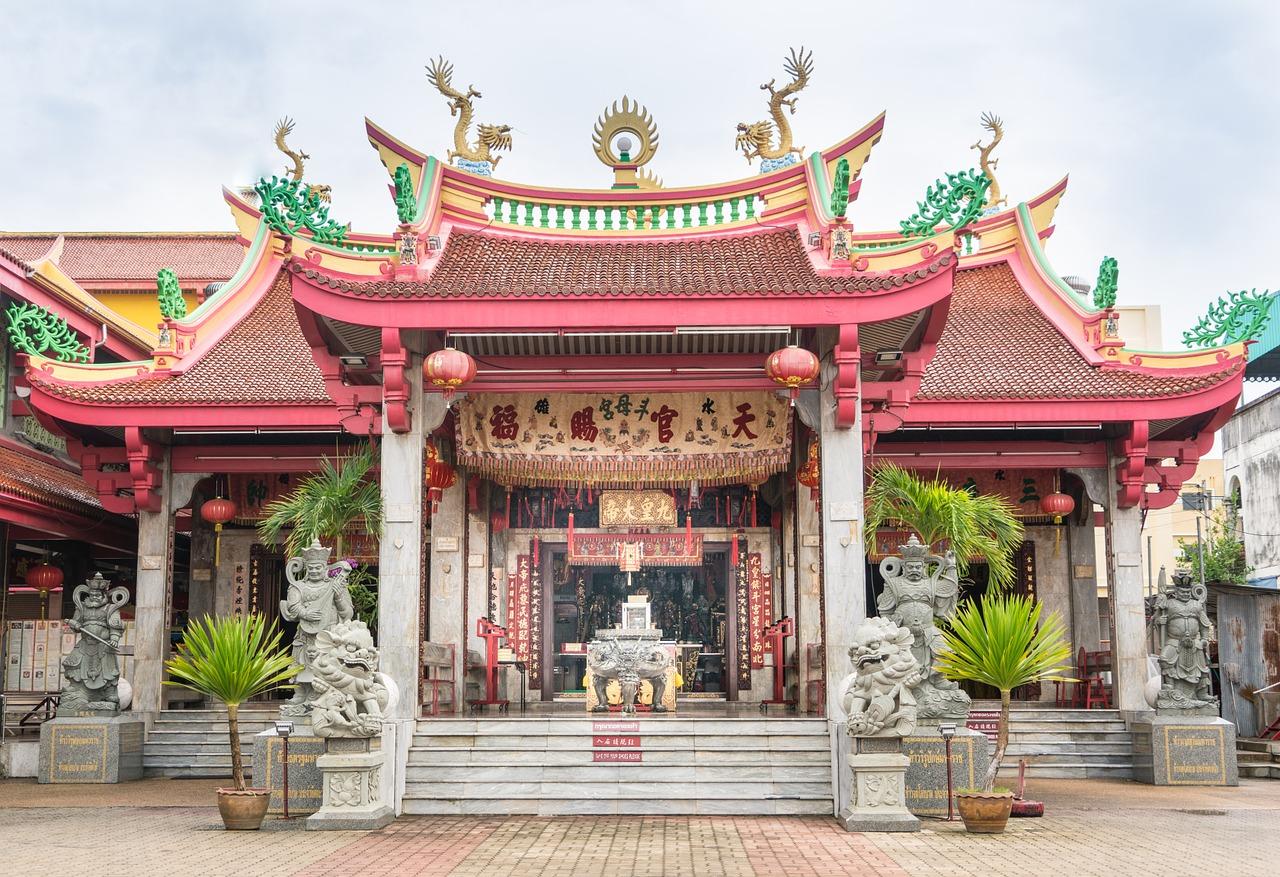 tempel Phuket kryssning