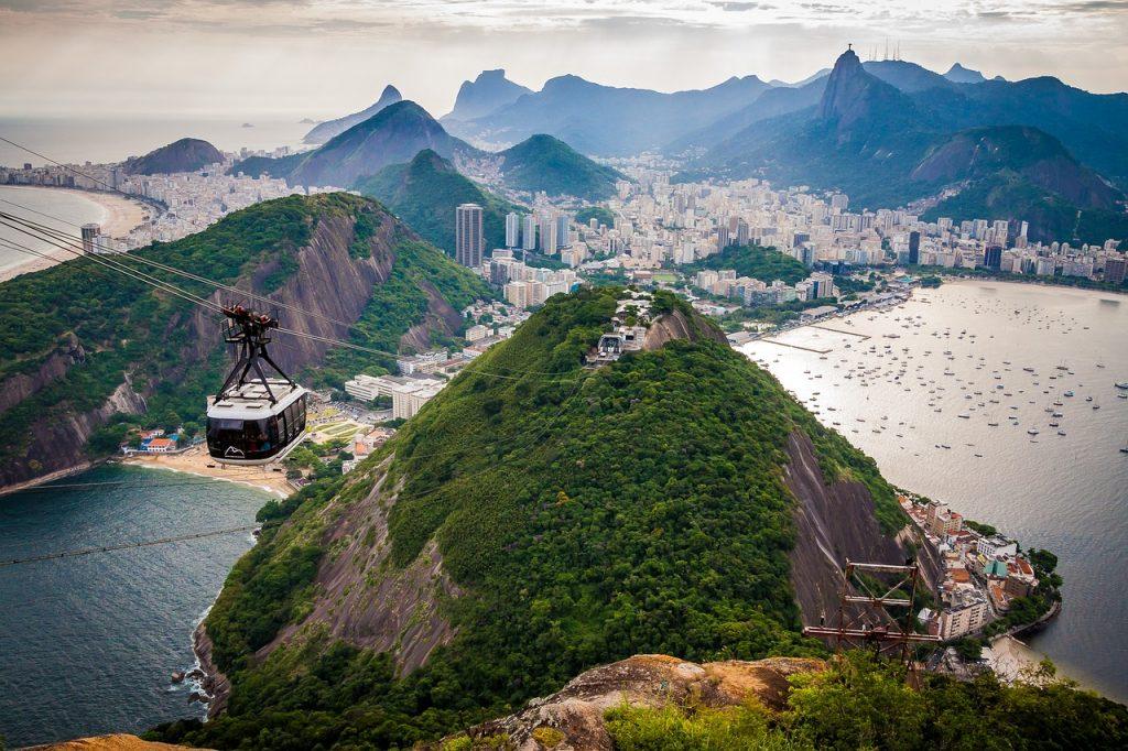 kryssning till Rio de Janeiro