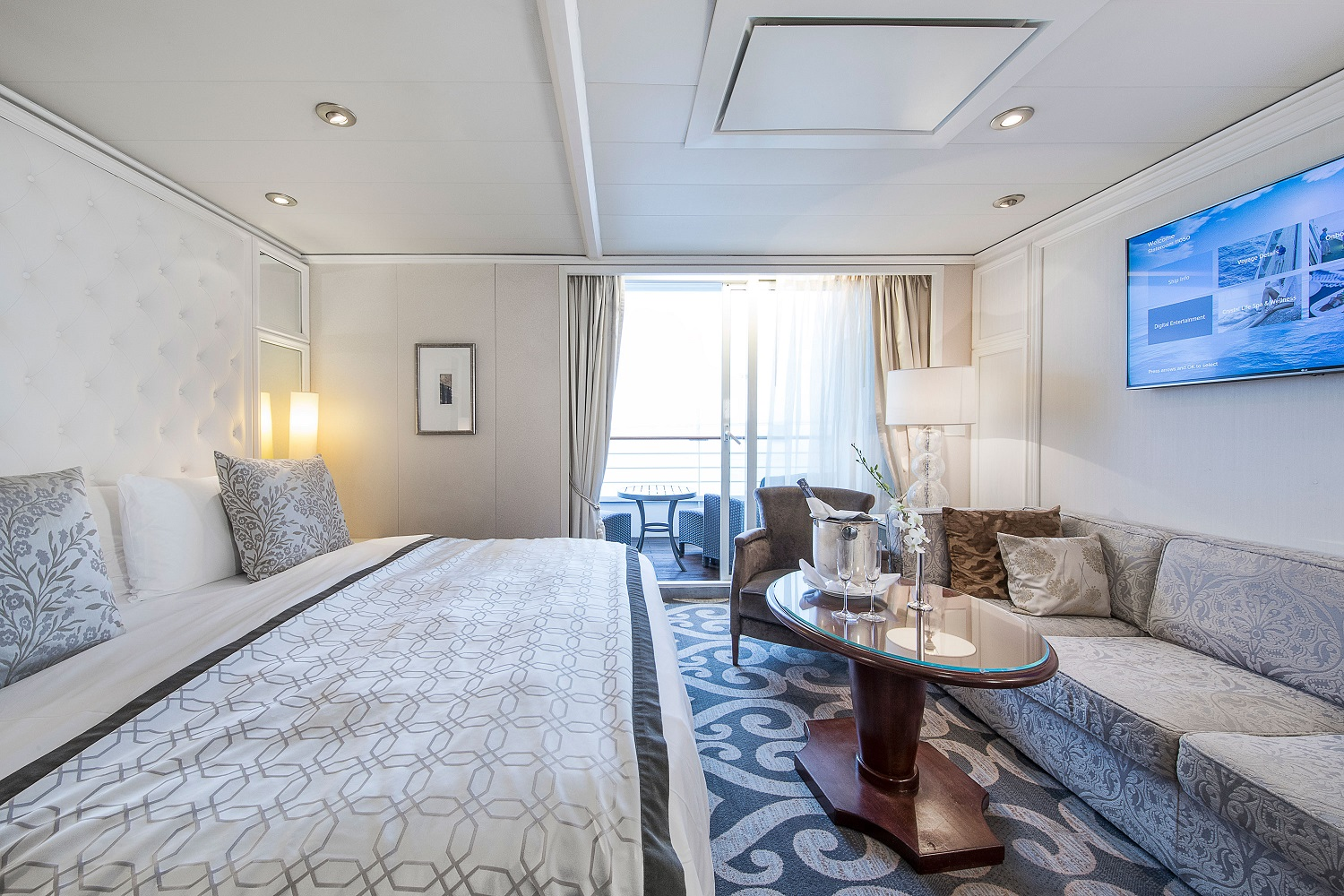 Crystal Serenity Penthouse Suite