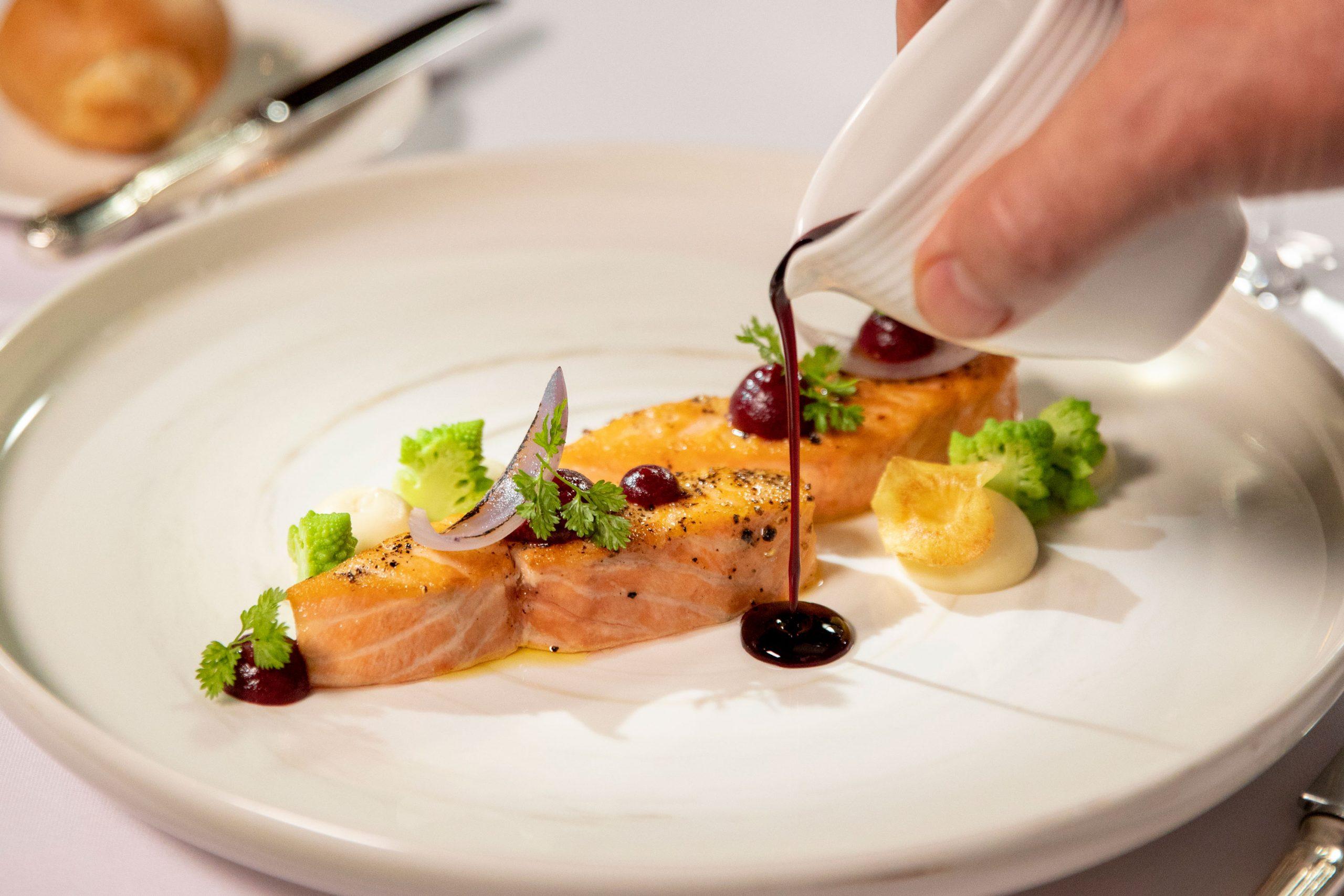 Mat i världsklass ombord Crystal Serenity