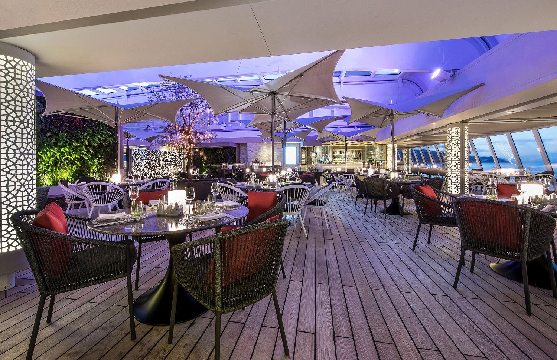 Restaurang ombord Crystal Serenity
