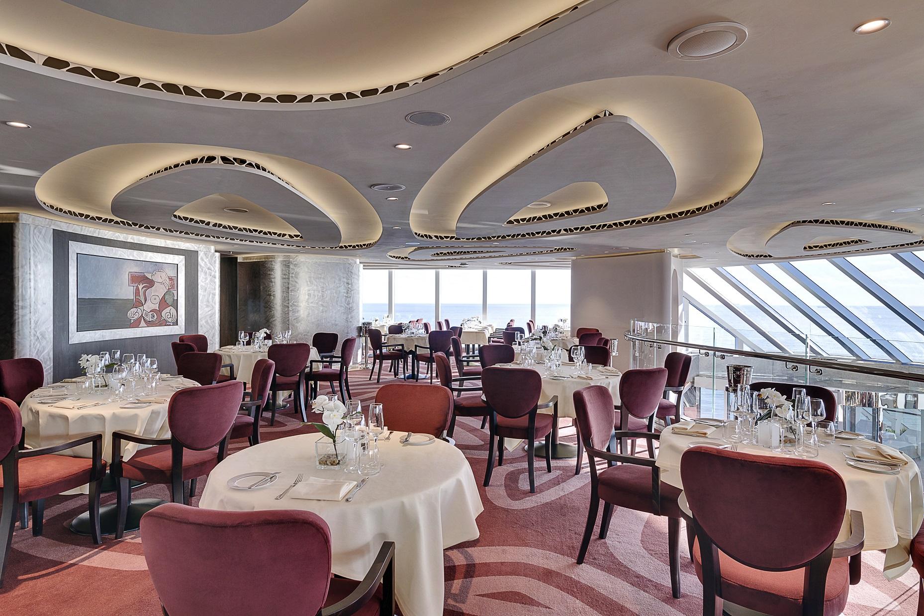 MSC Seaside, MSC Yacht Club Restaurant