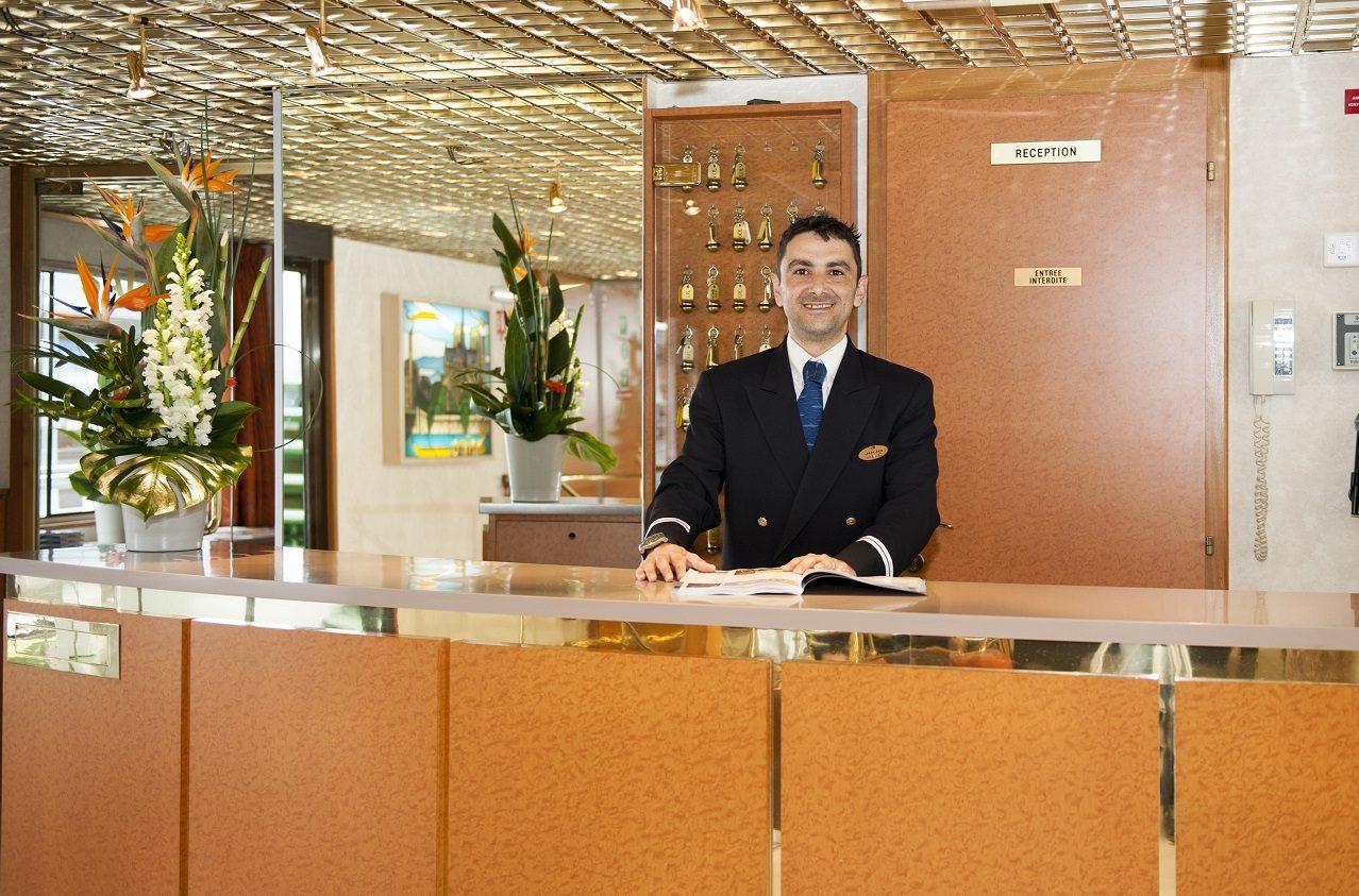 Reception ombord MS Princess CroisiEurope ©Denis Merck