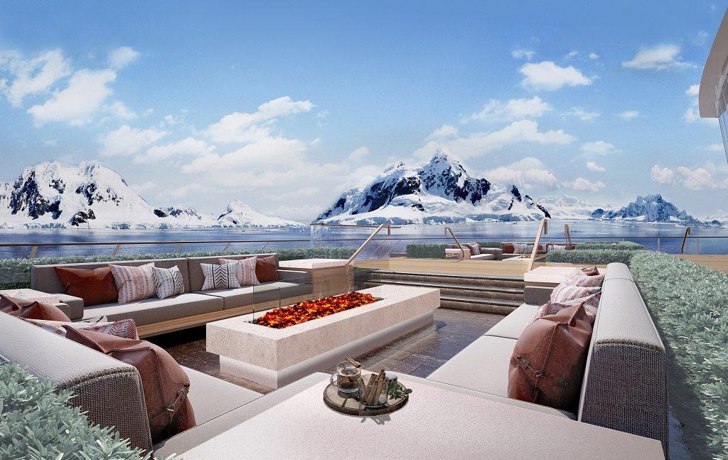 Terrace ombord Viking Expedition