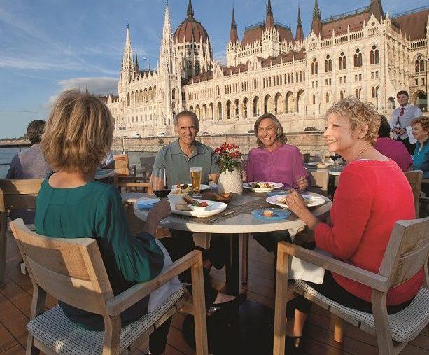 Viking Longship i Budapest