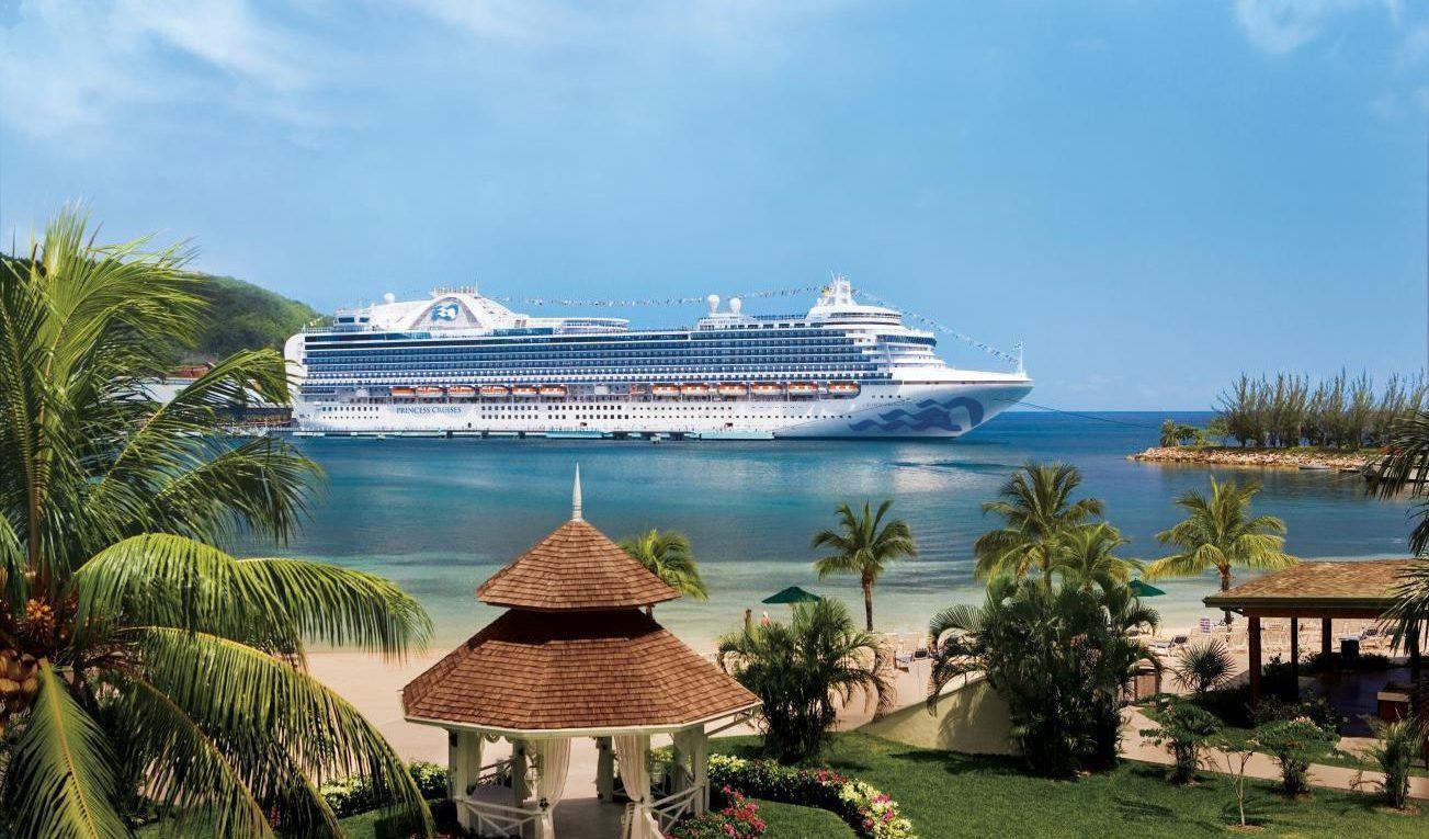 Princess Cruises i Jamaica