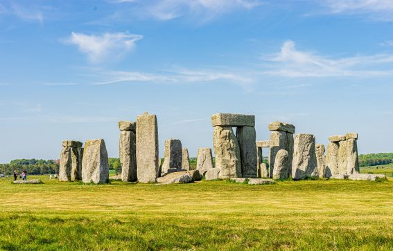 Historiska Stonehenge