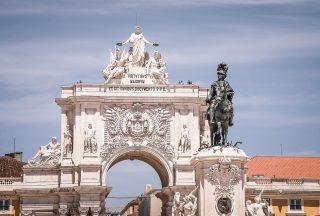 Piazza del commercio Lissabon